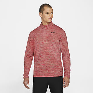 Nike Dri-FIT Victory Top de golf de medio cierre para hombre
