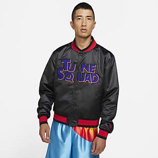 """LeBron x Space Jam: A New Legacy """"Tune Squad"""" เสื้อแจ็คเก็ตวาร์ซิตี้ Nike ผู้ชาย"""