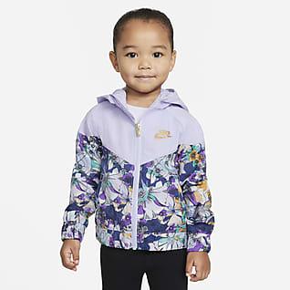 Nike Sportswear Windrunner Chamarra impresa con cierre completo para bebé