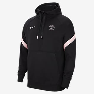 Paris Saint-Germain Men's Nike Dri-FIT Fleece Soccer Hoodie
