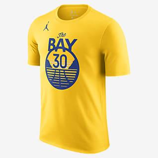 Stephen Curry Warriors Statement Edition Men's Jordan NBA T-Shirt