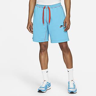 Nike Sportswear Calções clássicos de lã cardada para homem