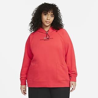 Nike Sportswear Swoosh Hoodie voor dames (grote maten)