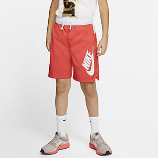 Nike Sportswear Shorts tejidos para niños talla grande