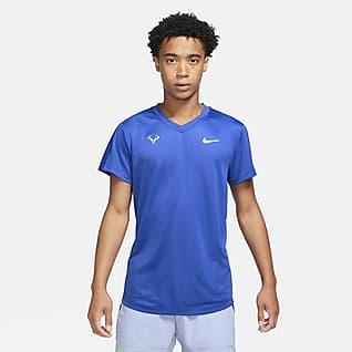 Rafa Challenger Camiseta de tenis de manga corta para hombre