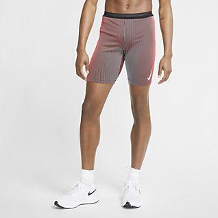 Nike AeroSwift Løbetights i halv længde til mænd
