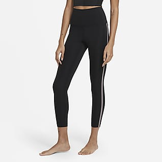 Nike Yoga Novelty 7/8-Leggings für Damen