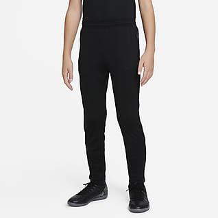 Nike Dri-FIT Academy Spodnie piłkarskie z dzianiny dla dużych dzieci