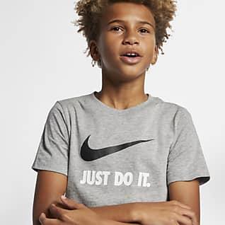 Nike Sportswear Playera JDI para niño talla grande
