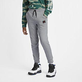 Jordan Flight Lite Spodnie dla dużych dzieci (chłopców)