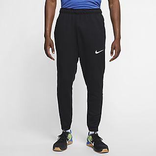 Nike Dri-FIT Pantalones de entrenamiento de tejido Fleece para hombre