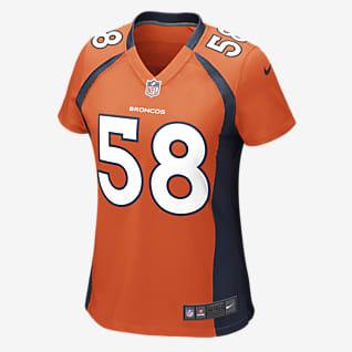 NFL Denver Broncos (Von Miller) Camiseta de fútbol americano Game para mujer