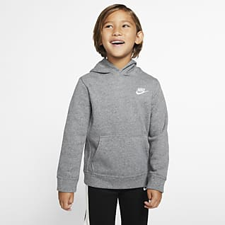 Nike Sportswear Club Fleece Μπλούζα με κουκούλα για μικρά παιδιά