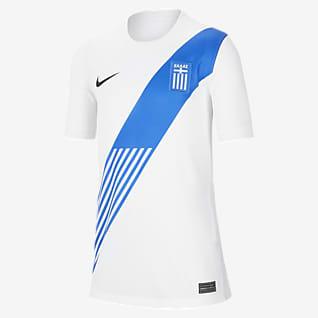 Домашняя форма сборной Греции 2020 Stadium Футбольное джерси для школьников