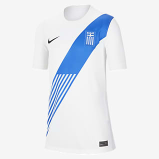 Greece 2020 Stadium Home Older Kids' Football Shirt