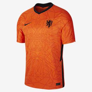 Netherlands 2020 Stadium de local Camiseta de fútbol para hombre