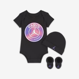 Paris Saint-Germain 3-teiliges Set für Babys (0–6 M)