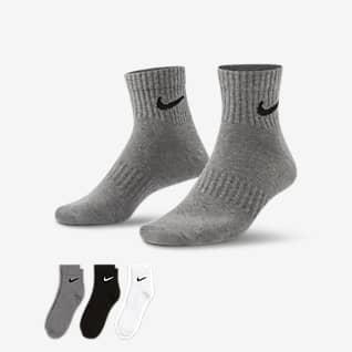 Nike Everyday Lightweight Meias de treino pelo tornozelo (3 pares)