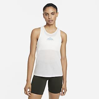Nike City Sleek Camisetas de tirantes de trail running - Mujer