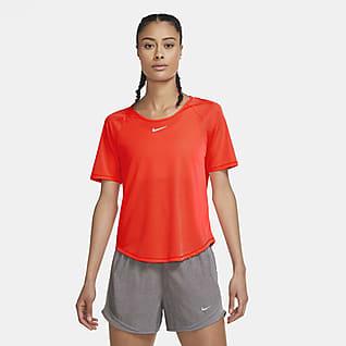 Nike Icon Clash Женская беговая футболка с коротким рукавом