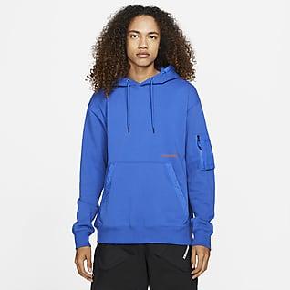Jordan 23 Engineered Pullover-hættetrøje i fleece til mænd
