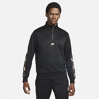 Nike Sportswear Мужская толстовка с молнией на половину длины