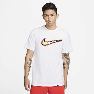 Nike Swoosh Мужская баскетбольная футболка с коротким рукавом