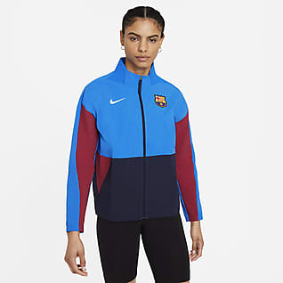FC Barcelona Women's Soccer Jacket