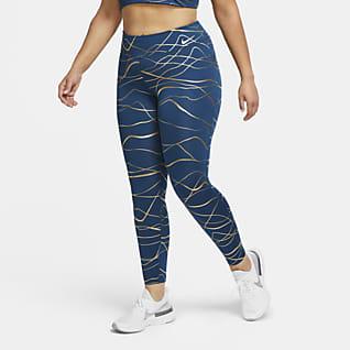 Nike Icon Clash Fast Женские беговые тайтсы (большие размеры)