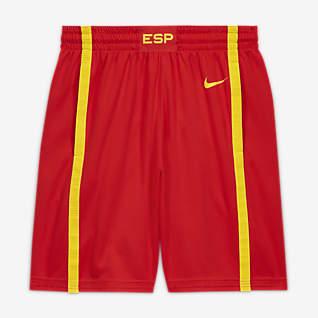Spain Nike (Road) Limited Férfi kosárlabdás rövidnadrág