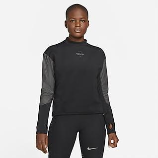 Nike Dri-FIT Run Divsion Женский беговой свитшот