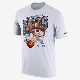 Brooklyn Nets Courtside เสื้อยืด Nike NBA ผู้ชาย