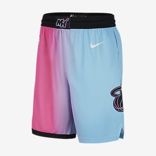 Miami Heat City Edition 2020 Shorts Nike NBA Swingman para hombre