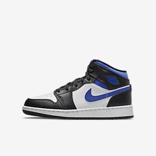 Air Jordan 1 Mid Sko til større børn
