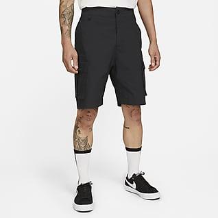 Nike SB กางเกงสเก็ตบอร์ดขาสั้นทรงคาร์โก้