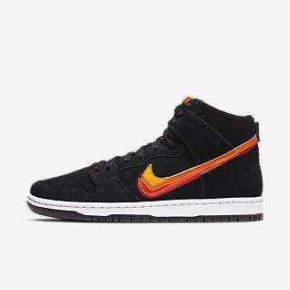 Købe Nike Dunk Lo Pro Sb Sko I RødHvid På Tilbud