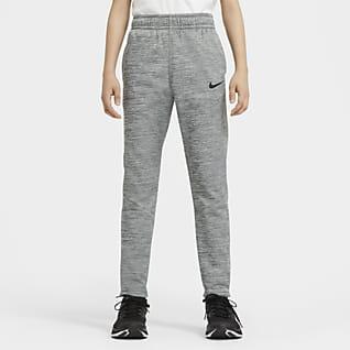 Nike Therma Pantalones de entrenamiento para niño talla grande