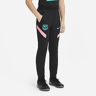 FC Barcelona Strike Футбольные трикотажные брюки для школьников