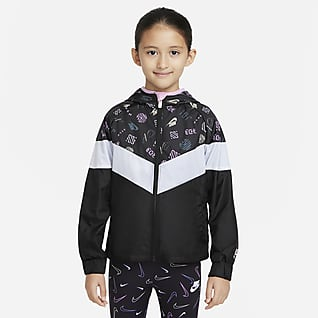 Nike Sportswear Windrunner Giacca con zip a tutta lunghezza - Bambini