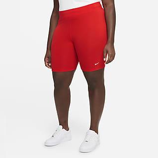 Nike Sportswear Essential Shorts de ciclismo de tiro medio para mujer (talla grande)