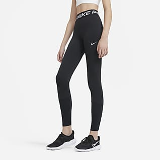 Nike Pro เลกกิ้งเด็กโต (หญิง)
