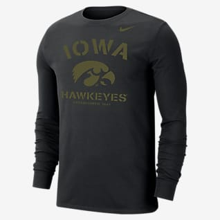Nike College Dri-FIT (Iowa) Men's Long-Sleeve T-Shirt