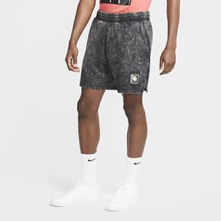 ナイキ スポーツウェア メンズ ニット ウォッシュ ショートパンツ
