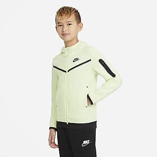 Nike Sportswear Tech Fleece Hoodie met rits voor jongens