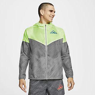 Nike Windrunner Chamarra de trail running con capucha para hombre