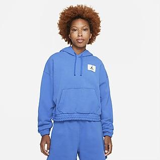Jordan Essentials Fleece Kadın Kapüşonlu Üstü