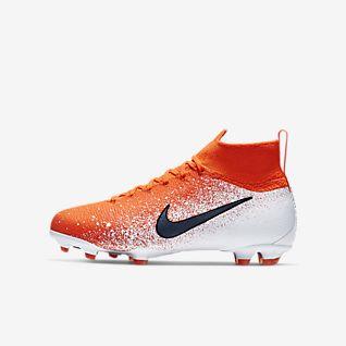 Nike Jr. Superfly 6 Elite FG Fotbollssko för gräs för ungdom