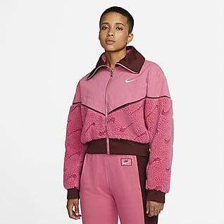 Nike Sportswear Icon Clash Fleecejakke for dame