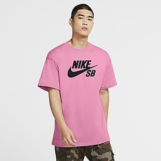 Nike SB Playera de skateboarding con logotipo para hombre