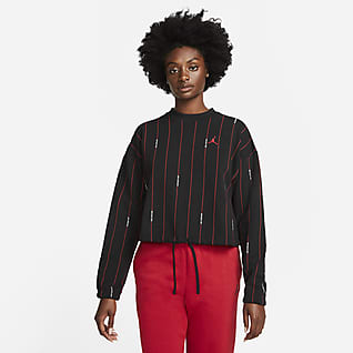 Jordan Essentials Γυναικεία φλις μπλούζα